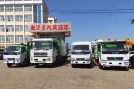 2019年5月四台清扫车齐发贵州