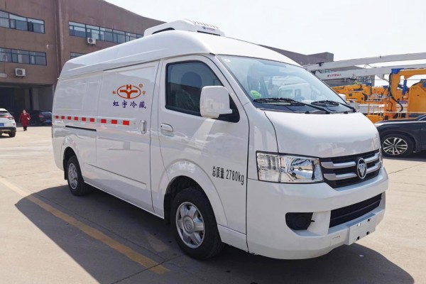 福田风景G7(高顶)冷藏车