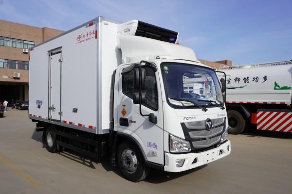 福田欧马可S1冷藏车