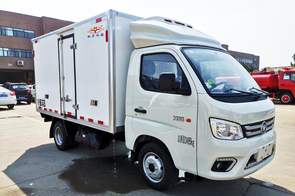 福田祥菱M1冷藏车(肉钩)