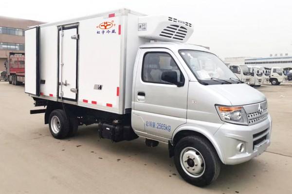 长安神琪T20冷藏车